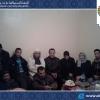 """أعضاء من المجلس في زيارة للسيد """" عياد الغليمي"""" موظف بالجماعة بعد وعكة صحّية"""