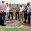 رئيس المجلس يعطي إنطلاقة مشروع تكسية ممرات الراجلين بأحياء مختلفة بأيت ملول
