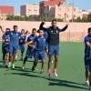 فريق الإتحاد الرياضي سيدي ميمون قصبة المزار يجري تداريبه لمواجهة فريق إتحاد زاكورة