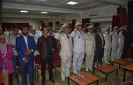 رئيس المجلس الجماعي لأيت ملول يترأس حفل الإنصات للخطاب الملكي السامي بأيت ملول