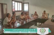 رئيس المجلس يعقد لقاء تواصلي مع ممثلي سيارات الآجرة الصنف الثاني بأيت ملول