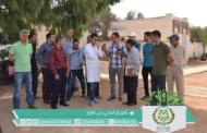 وفد من ممثلي مصالح الجماعة والمصالح الخارجية والمجتمع المدني في زيارة للمركز الصحي بحي المزار
