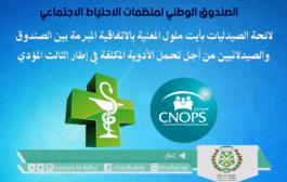 لائحة الصيدليات بأيت ملول المعنية بالاتفاقية المبرمة بين الصندوق الوطني لمنظمات الإحتياط الإجتماعي Cnops والصيدلانيين من أجل تحمل الأدوية المكلفة في إطار الثالث المؤدي.