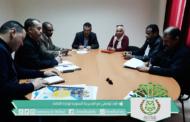 رئيس المجلس يعقد إجتماع عمل مع المدير الجهوي لوزارة الثقافة لبحث سبل التعاون الثقافي