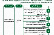 إعلان عن الدورة الإستثنائية لشهر يوليوز 2019