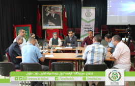 لجنة الشؤون الإجتماعية والإقتصادية والثقافية والرياضية والصحية بالجماعة تعقد إجتماعا مع وكالة الرامسا حول