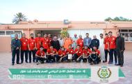 رئيس الجماعة يستقبل لاعبي النادي السوسي للصم والبكم بعد فوزهم بالبطولة الوطنية لكرة القدم