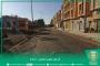 جانب من الطرقات التي ستباشر فيها أشغال التقوية بحي أركَانة