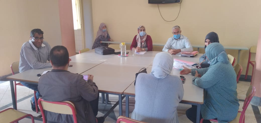 جماعة أيت ملول- إجتماع تواصلي لتطوير أوجه التعاون بين الجماعة ومندوبية التعاون الوطني