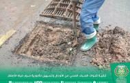 جماعة أيت ملول - تواصل عملية تنظيف قنوات تصريف المياه من الأوحال