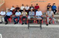 في مبادرة لتشجيع الفريق الدكتور هشام القيسوني رئيس الجماعة يحضر مباراة usmam ورجاء أگادير
