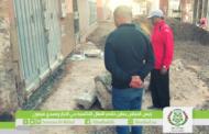 رئيس المجلس يعاين تقدم أشغال التكسية بحي المزار وسيدي ميمون