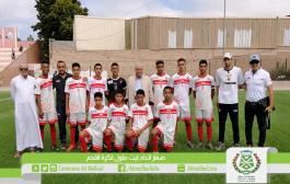 تهنئة بعد تتويج فريق صغار إتحاد أيت ملول ببطولة عصبة سوس لكرة القدم 2018-2019