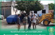 زيارة النائب الأول لرئيس المجلس لأشغال تقوية الطرق بعدة أحياء بالمدينة