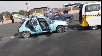المكتب الصحي - تعقيم سيارات الأجرة بمدينة أيت ملول